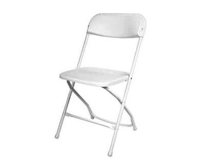 home chairs white plastic folding chair