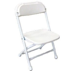 kids' plastic folding chair - you can't beat this! party rentals!