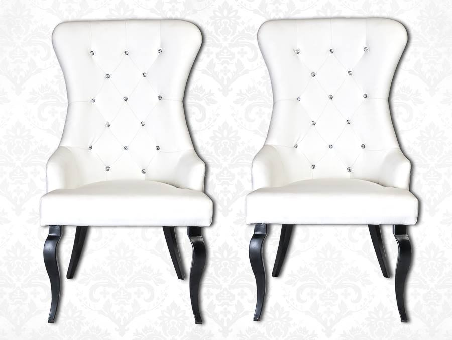 Bride & Groom Rhinestone Studded Chairs