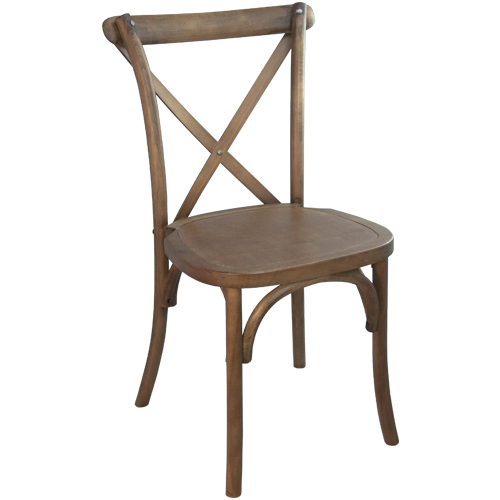 Italian Cross Back (X Back) Chairs In Tuscan Brown   You Canu0027t Beat This!  Party Rentals!