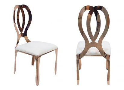 Wedding Chair Rentals.Rose Gold Infinity Chairs Finer Detailz Luxury Collection You Can